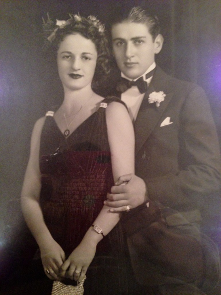 My grandparents around the time they got married.